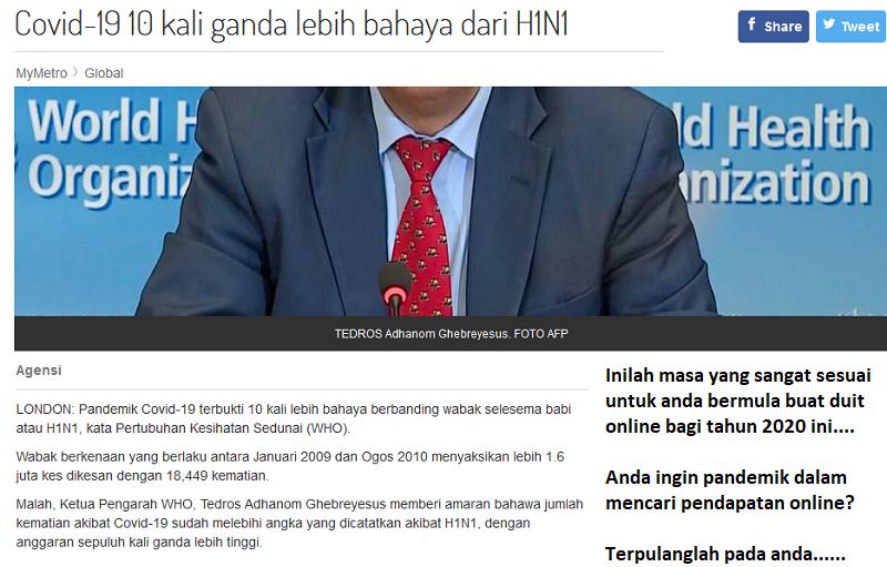 covid-19, covid-19 pandemik, pandemik covid-19, covid-19 malaysia, covid-19 dr noor hisham,
